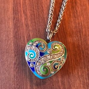 Rare Brighton Enamel Necklace